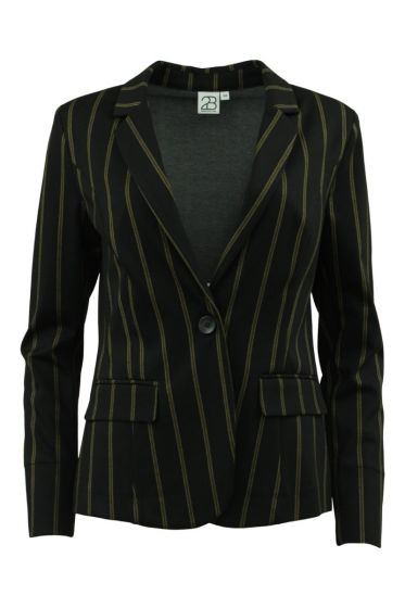 2 BIZ BLAZER  SORT STRIPE