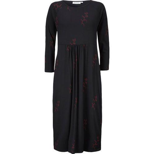 rød masai kjole