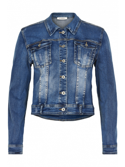 IN FRONT DENIM JAKKE   DENIM