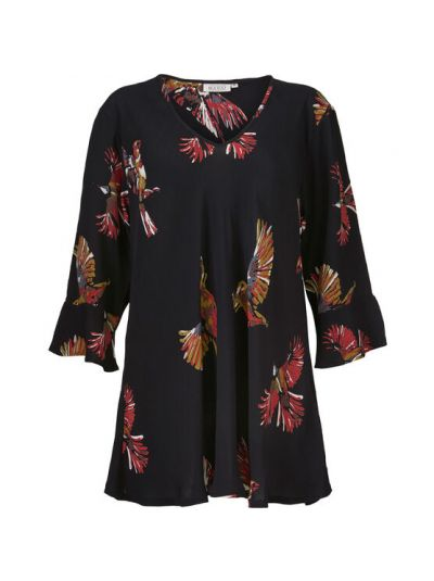 MASAI TOP BETSY   RED ORCH