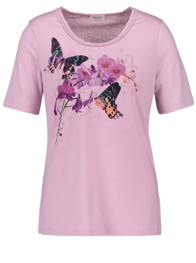 GERRY WEBER T-SHIRT 35090-30836 LILAC