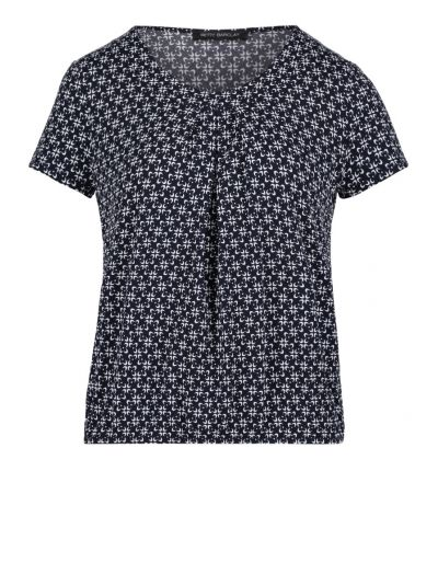 BETTY BARCLAY BLUSE   MARINE