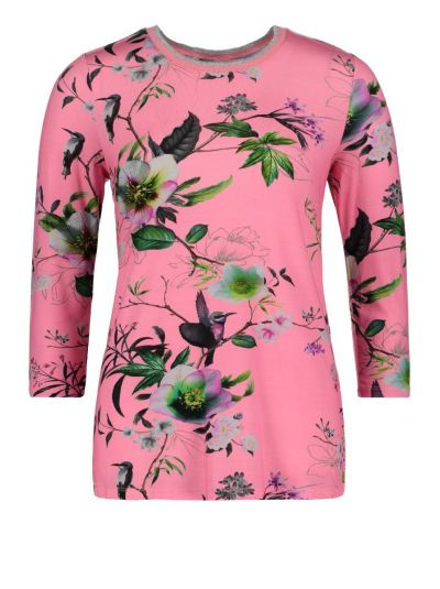BETTY BARCLAY BLUSE   PINK