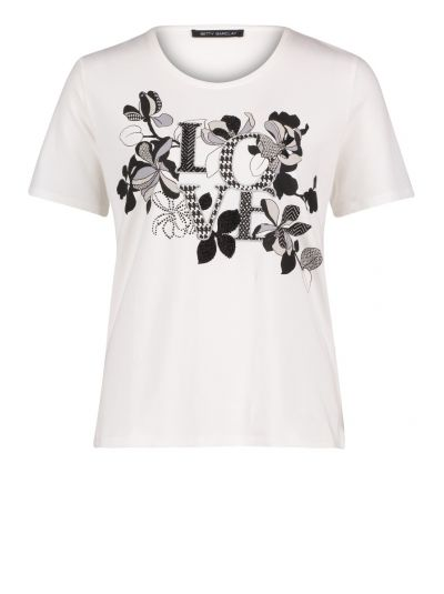 BETTY BARCLAY T-SHIRT   OFFWHITE