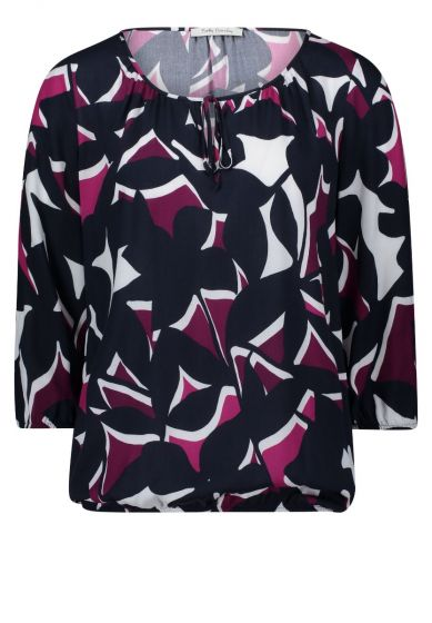BETTY BARCLAY BLUSE   FUCHSIA